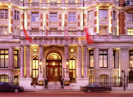 The Mandarin Oriental Hyde Park Hotel