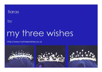 Tiaras by My Three Wishes Logo