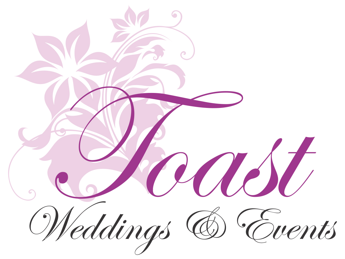 Toast Weddings and Events Logo