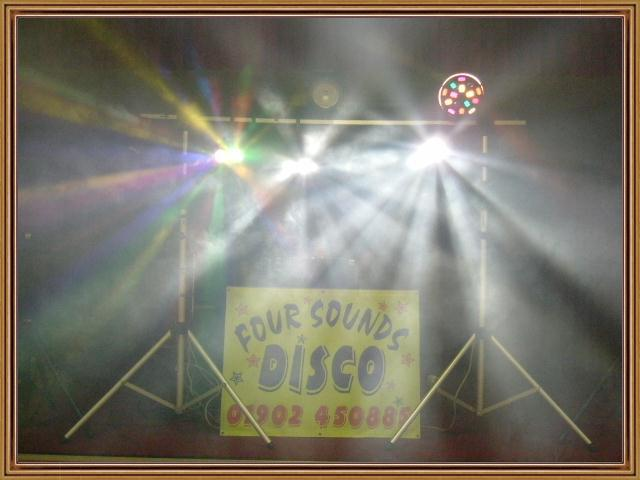 Four Sounds Professional Disco Logo
