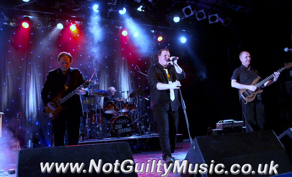 Not Guilty - The Live Band Logo