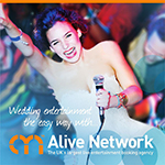Alive Network Entertainment Agency Logo