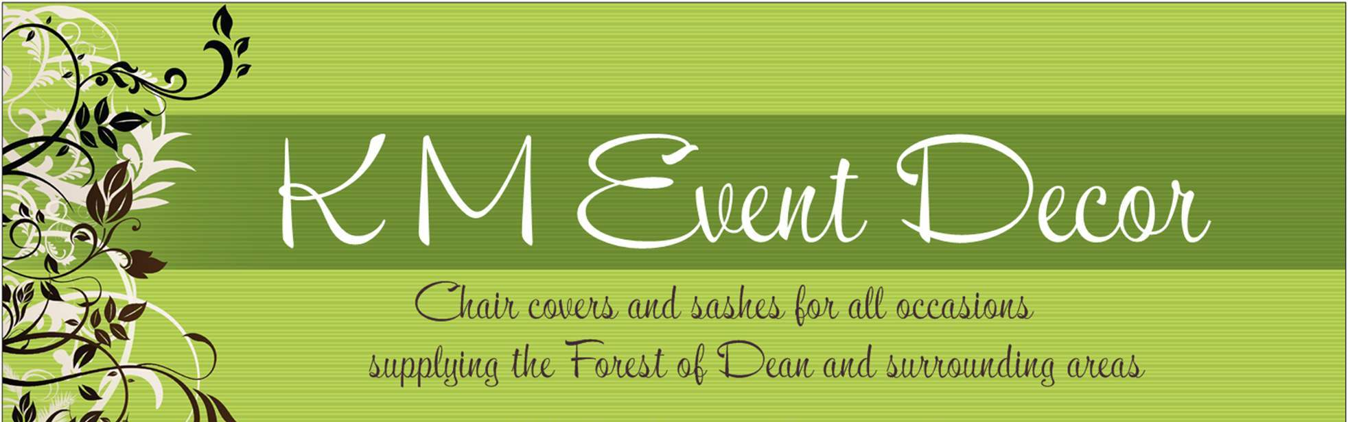 K M Event Decor Logo