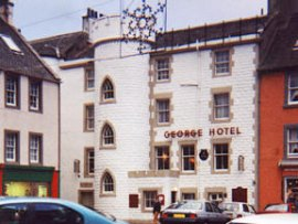 The George Hotel Logo